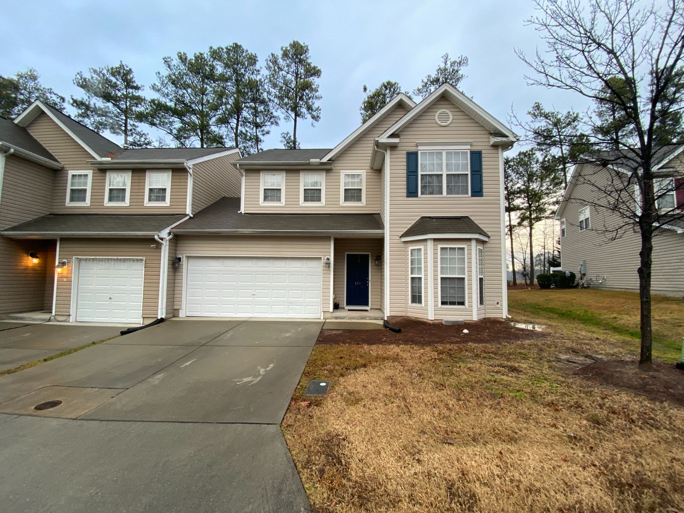 Alcove: Bedrooms for rent at 421 Hidden Springs Dr, Durham NC 27703
